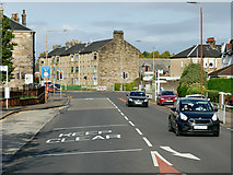 NS4074 : Traffic Lights on Glasgow Road by David Dixon