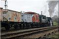 SK5415 : Double-headed Class 2s on the 'windcutter' by Chris Allen