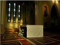 SK5640 : Nottingham Cathedral - altar and north transept by Stephen Craven