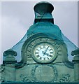 SK1846 : Ashbourne Town Hall Clock by Gerald England