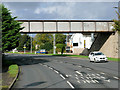 NS3081 : Railway Bridge over East Clyde Street by David Dixon