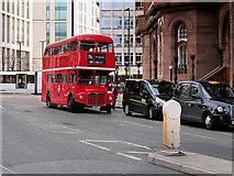 SJ8397 : Routemaster Bus on Peter Street by David Dixon