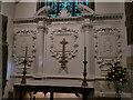 SK5239 : St Leonard, Wollaton - reredos by Stephen Craven