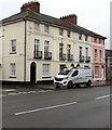 SO0428 : Three-storey houses, Watton, Brecon by Jaggery