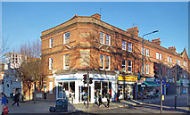 TQ2284 : Corner Shop, Willesden High Road by Des Blenkinsopp