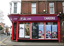 TG2309 : 2 Magdalen Street - Army Recruitment Office by Evelyn Simak