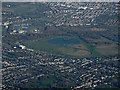 TQ1069 : Kempton Park racecourse from the air by Thomas Nugent