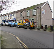 SS7597 : Watkins recovery vehicle, Commercial Street, Neath by Jaggery