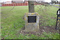 TL7077 : Memorial to Pilot Officer 'Ron' Middleton V.C. by Adrian S Pye