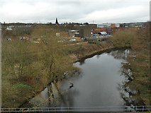 SE1719 : River Colne near Bradley by Stephen Craven
