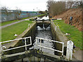 SE1618 : Lock No. 6, Huddersfield Broad Canal by Stephen Craven