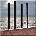 TQ3003 : Remnants of the West Pier, Brighton by Ian Cunliffe