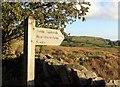 NY4200 : Public footpath sign to Near Orrest Farm, Cumbria by Ian Cunliffe
