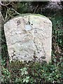 SP0554 : Old Milestone by the B4088, Weethley Bank by Jan Scrine