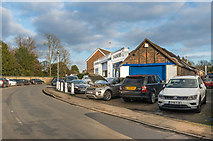 TQ2255 : Chequers Lane Garage by Ian Capper