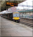 ST3088 : CrossCountry dmu for Cardiff Central at Newport station platform 2 by Jaggery
