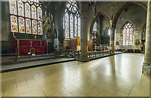 SK3871 : East end of St Mary & All Saints' church, Chesterfield by J.Hannan
