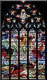 SK3871 : South transept window, St Mary & All Saints' church, Chesterfield by J.Hannan