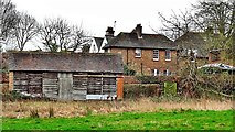 TQ2115 : Henfield, Sussex - view across the Tanyard by Ian Cunliffe