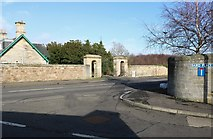 NO4900 : Entrance to Elie Estate by Bill Kasman