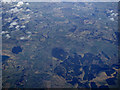 NS8835 : Douglas Water and the River Clyde from the air by Thomas Nugent
