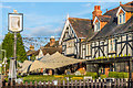 TQ2254 : The Chequers by Ian Capper