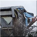 SO7844 : Demolition work on former Qinetiq site - 4 February by Philip Halling