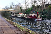TQ2783 : Waterbus on the Regent's Canal near London Zoo by Ian S