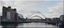 NZ2563 : The Gateshead Millennium Bridge by habiloid