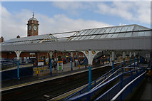 NZ3571 : Whitley Bay Metro Station by habiloid