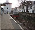 ST1974 : End of the line at Cardiff Bay station by Jaggery