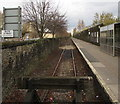 ST1974 : Branch line from Cardiff Bay towards Cardiff Queen Street station by Jaggery