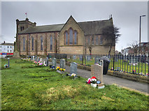 SD3348 : St Peter's Church, Fleetwood by David Dixon