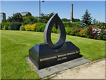 NS5964 : Glasgow Green -  International Workers Memorial by Stephen Craven