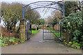 SD3138 : Entrance to Devonshire Road Rock Gardens by David Dixon