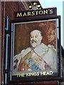 SK1109 : The King's Head inn sign by Philip Halling