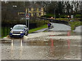 H4572 : Making it through the flood on Irishtown Road, Omagh by Kenneth  Allen