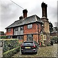TQ2115 : Henfield, Sussex - house on the corner of Nep Town Road by Ian Cunliffe