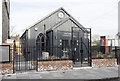 TQ3091 : Redundant Tin Tabernacle, Bowes Park by John Salmon