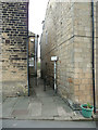 SE2037 : Old footpath at Thornhill Street by Humphrey Bolton