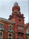 SD7109 : Bolton, Victoria Hall Tower by David Dixon