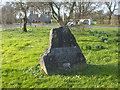 ST4459 : The Churchill millennium stone by Neil Owen
