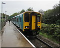 ST1580 : Class 150 dmu at Rhiwbina station, Cardiff by Jaggery