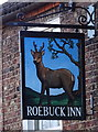 SE5542 : Sign for the Roebuck Inn, Appleton Roebuck by JThomas
