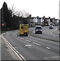 ST3090 : Speeding ambulance on the A4051 Malpas Road, Newport by Jaggery