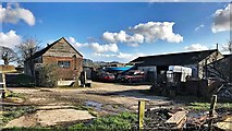 TQ1814 : Outbuildings near Upper Northover Farm by Ian Cunliffe