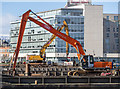 J3474 : Excavators, Belfast by Rossographer