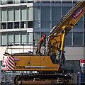 J3474 : Excavator, Belfast by Rossographer