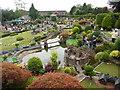 SU9391 : View of Bekonscot Model Village looking West by David Hillas