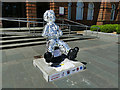 NS6064 : Oor Wullie outside the People's Palace by Stephen Craven